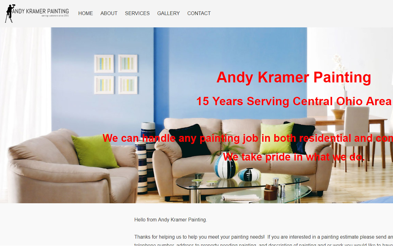 Commercial Painting Website